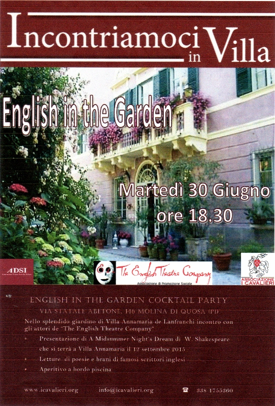 english in the garden